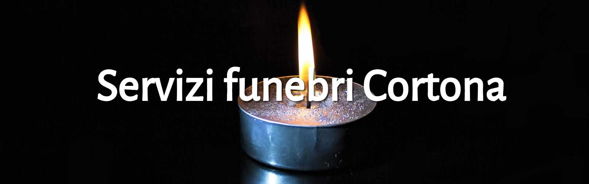 Candele per rito funebre Cortona